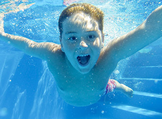 camping pour enfants piscine landes