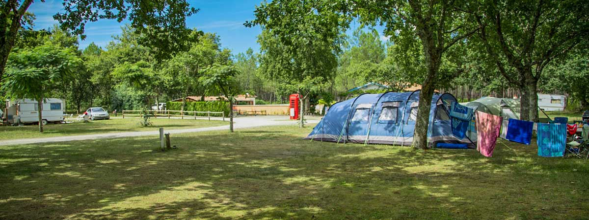 camping location emplacement landes