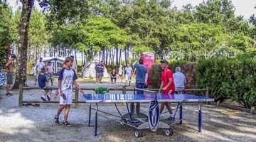 camping ping pong