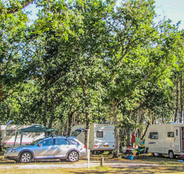 caravaning camping landes