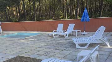 location camping piscine landes