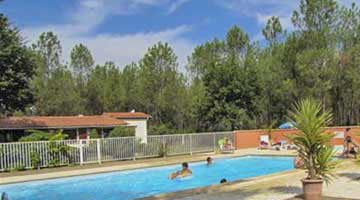 location camping piscine