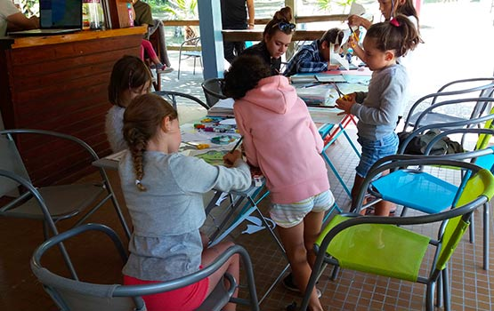 camping landais avec activités pour enfants