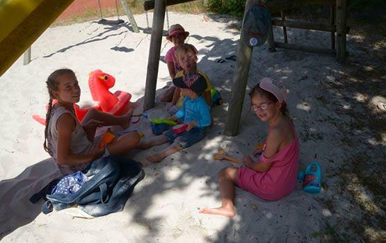 camping dans les Landes pour enfants
