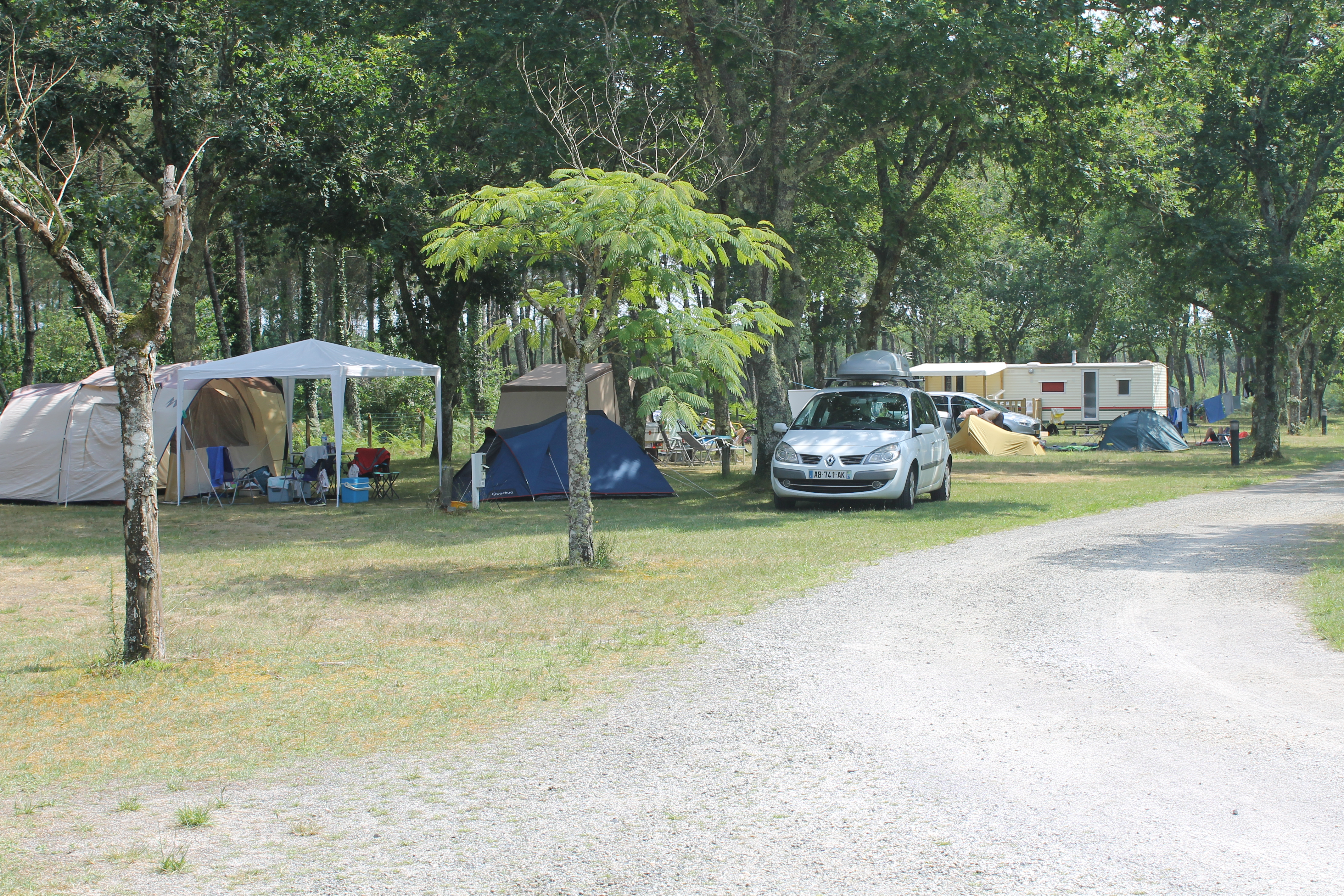 camping landes nature emplacements