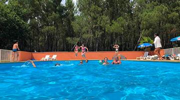 locations dans un camping avec piscine dans les Landes