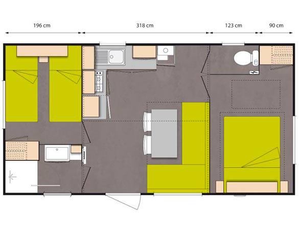 plan de location famille dans les landes