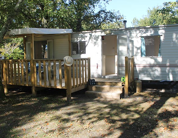 mobil-home confort location landes