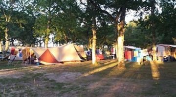 location emplacement landes camping