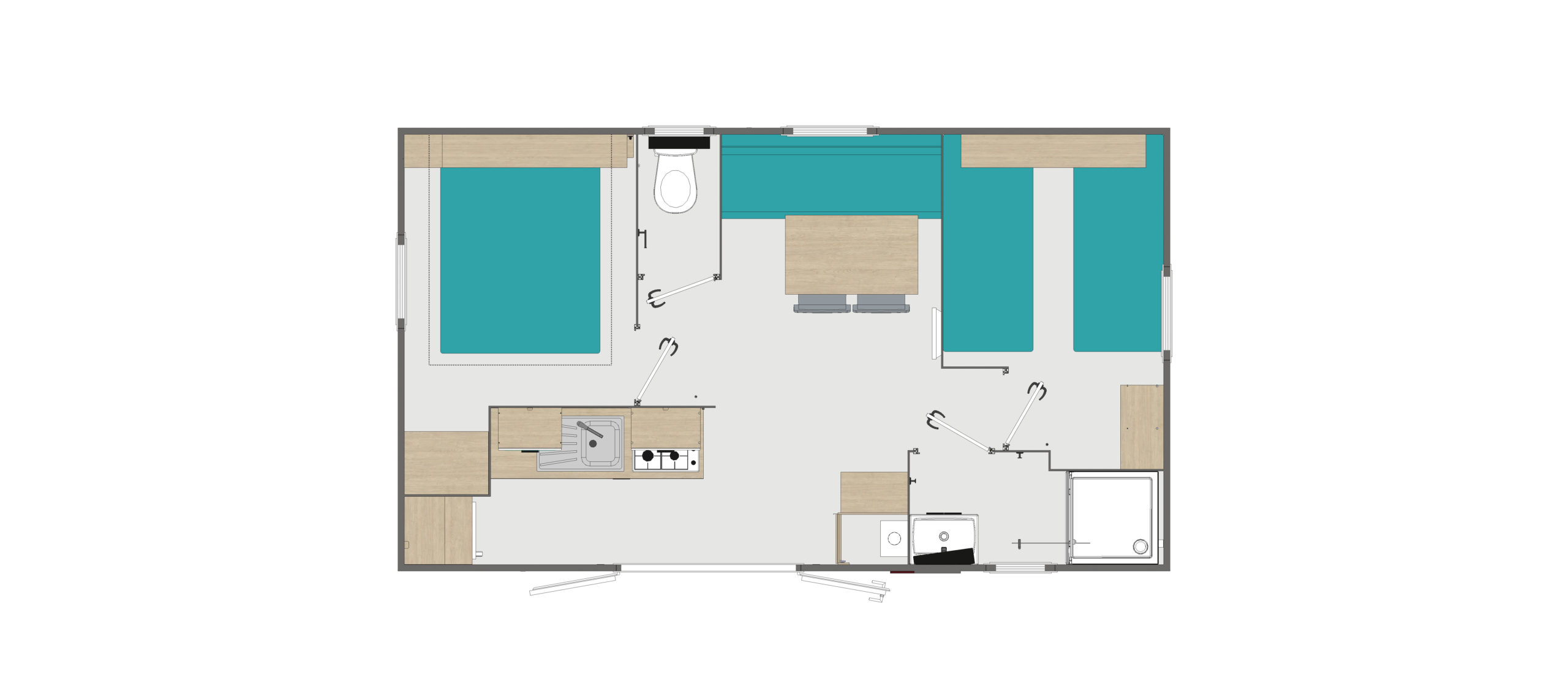 plan mobil-home callune