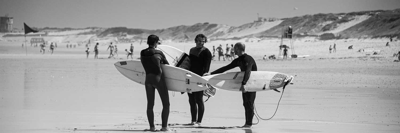 spots de surf dans les landes